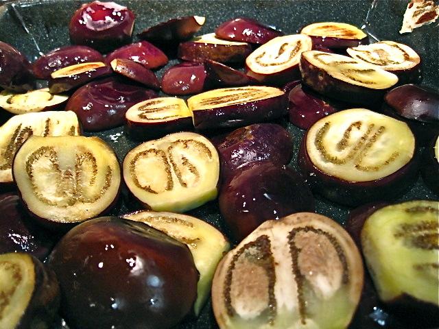 I love eggplant.